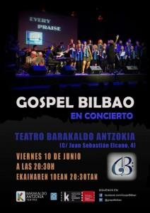 Cartel Teatro Barakaldo 2016
