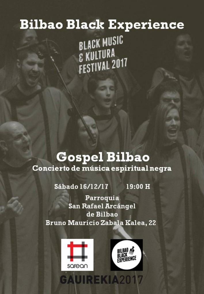 Cartel Gospel Bilbao